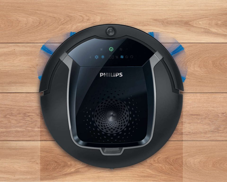 Review robot hút bụi Philips FC8810